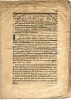 Estat de la question qui est à juger entre la demoiselle d'Aquin, épouse de Me Antoine Drogat, avocat en la cour, intimée en appel d'ordonnance rendue ...