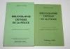Bibliographie critique de la police. LE CLERE (Marcel)