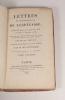 Lettres de mademoiselle de Lespinasse, écrites depuis l'année 1773, jusqu'à l'année 1776; suivies de deux chapitres dans le genre du Voyage ...