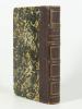 Aventures de Pisistrate Caxton. Roman anglais traduit avec l'autorisation de l'auteur par Edouard Scheffter. BULWER (Sir E. L.)