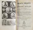 Beaux traits de l'histoire militaire des français, depuis l'origine de la monarchie jusqu'à ce jour, ou traits de courage, de magnanimité, d'audace, ...