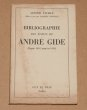Bibliographie des écrits de André Gide (Depuis 1891 jusqu'en 1952). NAVILLE (Arnold)