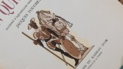 Don Quichotte.   4 vols.. CERVANTES