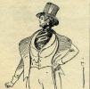 Un Cupidon déchaîné (le véritable comte d'Orsay). . FLERS (P.-L.).