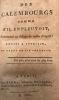 Des calembourgs comme s'il en pleuvait, dédiés à Jocrisse et ornés de son portrait. P., Barba, 1800. In-12, demi-bas. ocre, pièces de titre en mar. ...