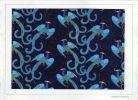 """""""Vol d'oiseaux sur fond bleu"""". ."""