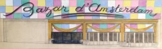 """Bazar d'Amsterdam façade et devanture"". ."