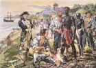"""""""Marquage d'esclaves au départ des colonies"""".."""