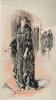 La mode au XVIIIe siècle par Moreau le Jeune et au XXe siècle par Drian. . FOURRURES MAX.