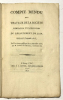 Compte rendu des Travaux de la Société d'Emulation et d'Agriculture du Département de l'Ain pendant l'année 1813.. MOYRIA, Gabriel de