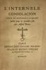 Internelle consolacion (L'). Texte du manuscrit d'Amiens publié pour la première fois par Alfred Pereire. .