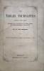 Tables (Les) tournantes. Saynète pour salon. Représentée pour la première fois à la Séance publique de la Société philotechnique, le 26 mai 1872.. ...