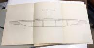 Chemins de fer de Bourges à Cosne. Viaduc de l'Etang. Tablier métallique (en acier). Dessins d'exécution. Dressé par l'ingénieur ordinaire Guillot, ...