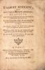 Albert (L') moderne, ou nouveaux secrets, éprouvés et licites, recueillis d'après les découvertes les plus récentes [...]. Le tout divisé en trois ...