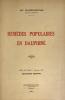 Remèdes populaires en Dauphiné. . Rivière-Sestier, Mme :