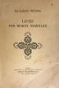Livre (Le) des Morts Thibétains ou les expériences d'après la mort dans le plan du Bardo, suivant la version anglaise du Lama Kazi Dawa Sandup ; ...