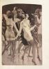 Montée (La) aux enfers. Poésies. Edition illustrée de douze eaux-fortes et vingt-trois dessins par Edouard Chimot. . [Chimot (Edouard)] Magre, Maurice ...