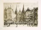 Paysages de Lyon. Texte liminaire de A. Chagny.. Drevet, Joannès :