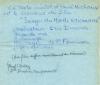 Ensemble de quatre documents, concernant les expériences avec la Mescaline :. Michaux (Henri) - Fournier (Pierre) :