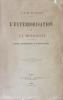 Extériorisation (L') de la Motricité. Recueil d'expériences et d'observations.. Rochas d'Aiglun (Albert de), colonel, érudit et physicien :