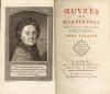 Oeuvres. Nouvelle Édition corrigée et augmentée.. Maupertuis (Pierre Louis Moreau de) :