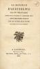 Bataille (La) d'Austerlitz ; par un militaire témoin de la journée du 2 décembre 1805. Avec des remarques par un autre militaire aussi témoin de ce ...