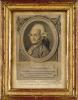 Portrait gravé de Jérôme De Lalande, de l'Académie Royale des Sciences de Paris, de celles de Londres, de Berlin, de Petersbourg etc. Né à Bourg en ...