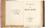 Le grand secret.. Maeterlinck (Maurice) :