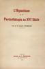 Hypnotisme (L') et la psychothérapie au XVIe siècle.. Rouzeaud, Dr Camille :