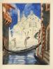 La Nuit Vénitienne. Précédée d'une étude inédite de Pierre de Nolhac. Quinze eaux-fortes originales de Jean-Gabriel Domergue.. [Domergue] Alfred de ...