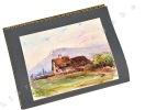 Souvenirs 1854-1934. Illustrés de croquis, dessins, eaux-fortes et aquarelles.. Drevet (Joannès, Jean-Baptiste ; Lyon 1854-1940) :