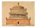 (actuellement château Saint Ange).. Mausolée d'Hadrien à Rome