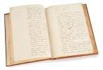 Une Idylle, manuscrit offert à son ami A. Legrand. G. Nadaud.. [Manuscrit] Nadaud (Gustave ; Roubaix 1820 - Paris 1893) :