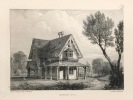 Rural architecture ; or a series of designs for ornemental cottages in ninety-six plates. The landscapes drawn on stone by J.D. Harding. Fourth ...