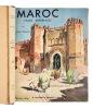 Villes impériales du Maroc. Illustrations de Théophile Jean Delaye (1896-1973).. Terrasse (Henri ; 1895-1971) :