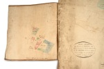 Plan géométral du domaine des Grange situé sur la commune de Montluel, appartenant à Mr Richard, Md. Espicier à Lyon. Levé en mars 1821 par le ...