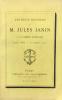 Les deux discours de M. Jules Janin à l'Académie française. Avril 1865 - Novembre 1871.. Janin (Jules ; 1804-1874) :
