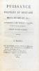 Puissance politique et militaire de la Russie en 1817 ; attribué à sir Robert-Wilson, orné d'une carte.. [Russie, réunion de deux ouvrages] I- [Wilson ...