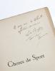Choses de sport. Courses militaires. Courses de gentlemen. Rallie-Papiers. Concours hippiques. Par un Gentleman.. [Champion (Louis-Gustave-Michel ; ...