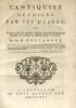 Antiquité (L') dévoilée par ses usages, ou examen critique des principales opinions, cérémonies et institutions religieuses et politiques des ...