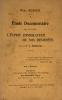 """Etude documentaire sur le livre """"L'Esprit consolateur ou nos destinées"""" par le P. V. Marchal.. Bodier, Paul :"""