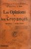 Opinions (Les) et les croyances. Genèse-Evolution.. Le Bon, Docteur Gustave :