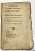 Exposé historique et statistique des travaux de la Société Départementale d'Emulation et d'Agriculture de l'Ain. Années 1819 et 1820..