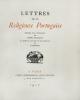 Lettres de la Religieuse Portugaise précédées d'un avertissement par Henri Focillon et ornées de gravures sur bois originales de Carlègle.. [Carlègle ...