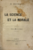 Science (La) et la morale.. Berthelot, M. :