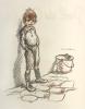 Poil de Carotte. Avec des dessins de Poulbot gravés sur bois par G. Patesson.. [Poulbot] Renard, Jules :