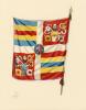 Garde (La) fidèle du Saint-Père. Les soldats Suisses au service du Vatican de 1506 à nos jours. Illustrations en couleurs de Fred Fay.. [Castella, ...