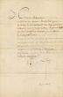 Nomination à la charge de Sous-lieutenant. Louis XVI - Duportail - Macmahon.