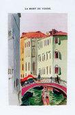 Mort (La) de Venise. Illustrations de Maurice Denis gravées sur bois par Jacques Beltrand.. [Denis (Maurice)] Barrès, Maurice :