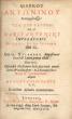 Marci Antonini imperatoris : De Seipso et Seipsum libri XII. Guil. Xylander Augustanus Graece et Latine primus edidit ; Nunc vero, Xylandri Versionem ...